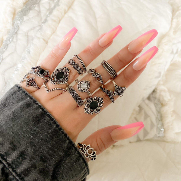 Malefi 15 Piece Ring Set - Fan Fav! 12 LEFT!