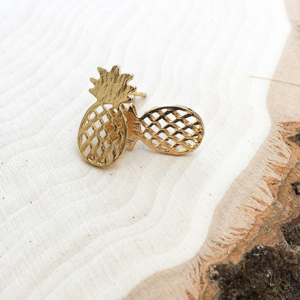 Hawaiian Pineapple Earrings - The Songbird Collection