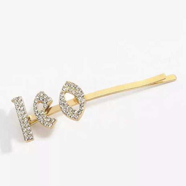 Zodiac Signs + Drippin Glam Savage Hotgirl Rhinestone Hair Pins - The Songbird Collection
