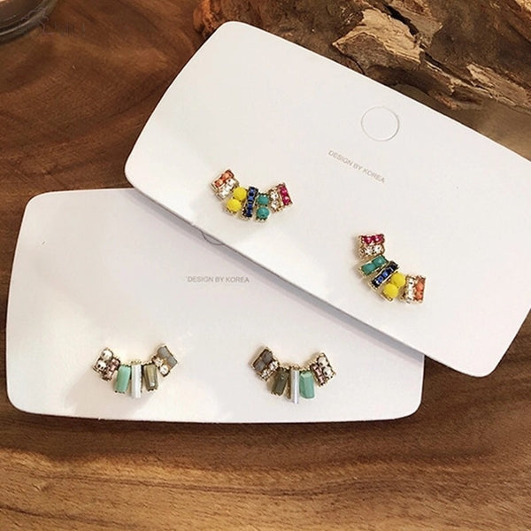Smiles and Beads Earrings