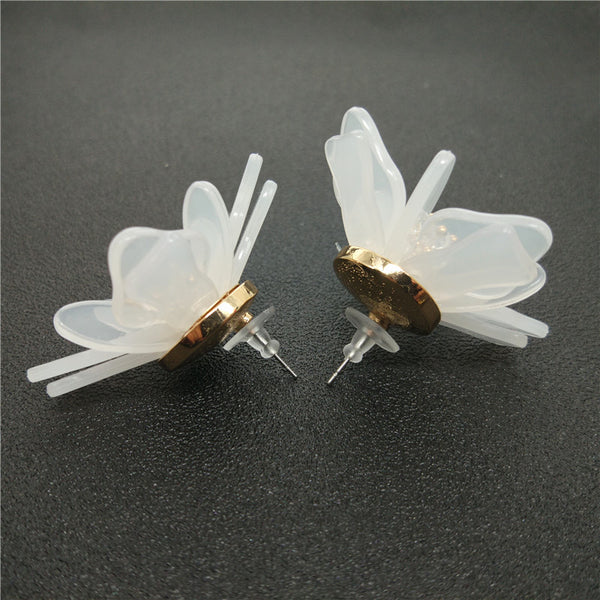 Aster Floral Earrings - The Songbird Collection