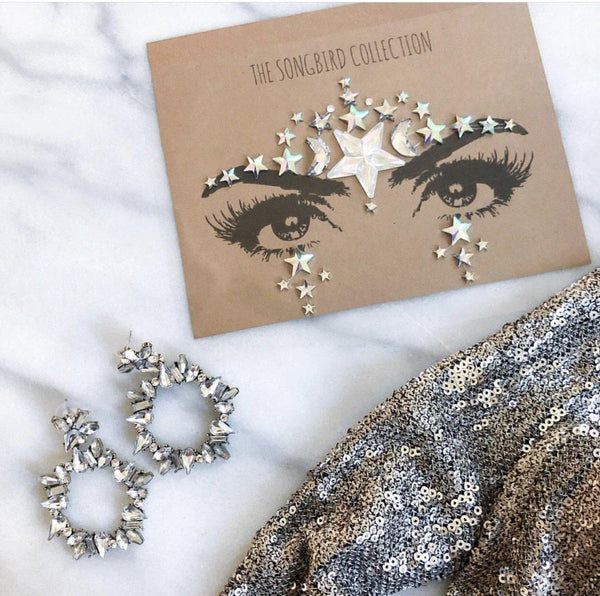 Moon & Stars Face Gems - RESTOCKED!! - The Songbird Collection