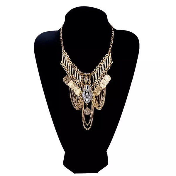 Nova Layered Maxi Statement Necklace - 2019 NEW DESIGN! - The Songbird Collection