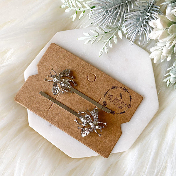 Bee Hair Pin Set - LOW STOCK! - The Songbird Collection
