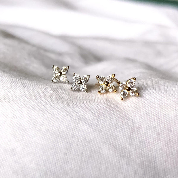 Itsy Bitsy Mini Earrings - 925 Sterling Silver