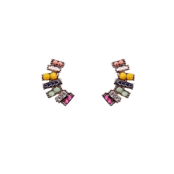 Smiles and Beads Earrings - The Songbird Collection