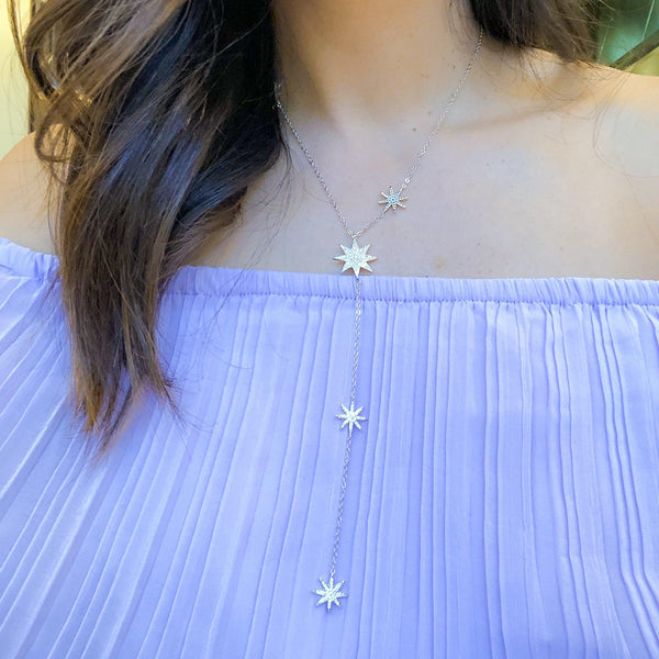 Eternal Stars Lariat Necklace - LOW STOCK! - The Songbird Collection