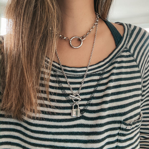 Locked 🔒 Chain Necklace - 2 Styles! - The Songbird Collection