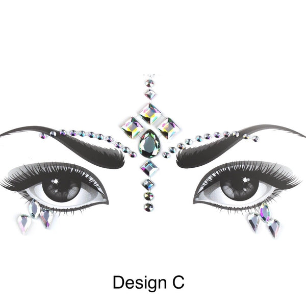 Face + Body Jewels -  16 Designs LOW STOCK! - The Songbird Collection