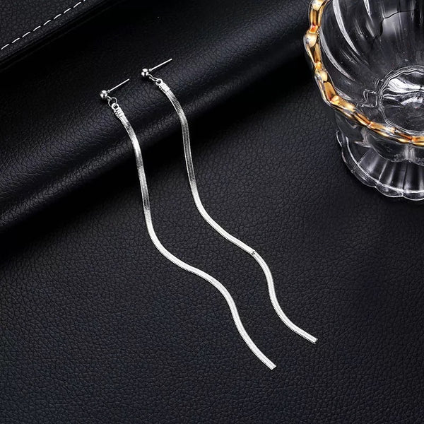 Snake Chain Duster Earrings - LOW STOCK!