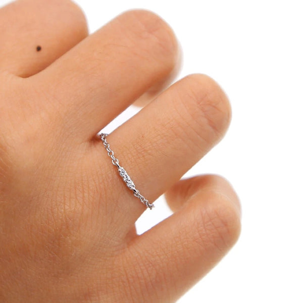 Lyra Sterling 925 Silver Ring - The Songbird Collection