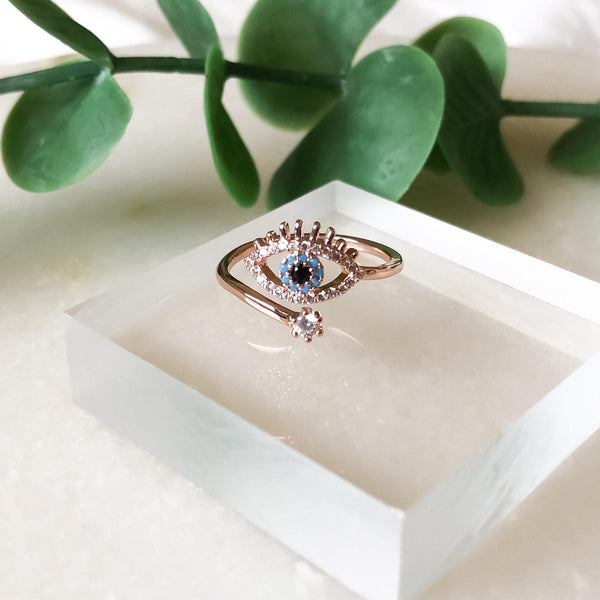 Blue Eye Ring - The Songbird Collection