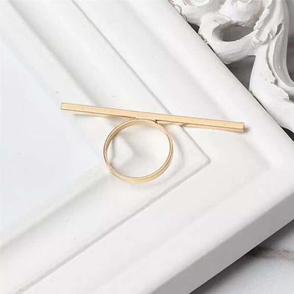 Linea Bar Ring - Just a FEW left! - The Songbird Collection