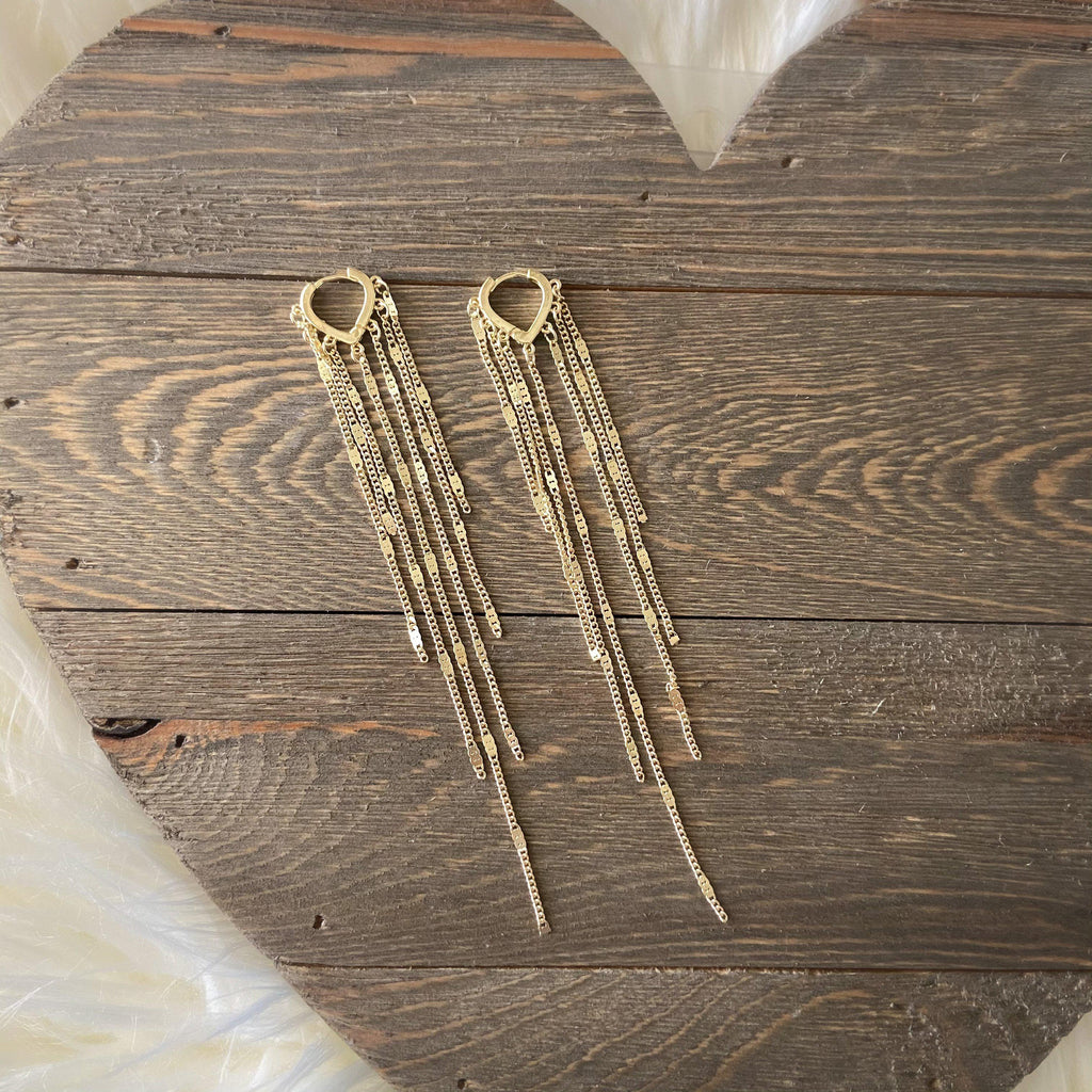Chainfall Duster Earrings - Fan Fav! LOW STOCK!!