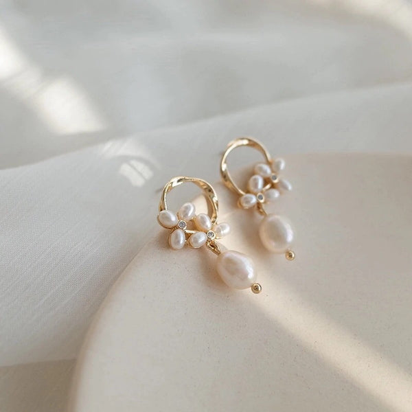 Promise Freshwater Pearl Earrings - be back by mid April - The Songbird Collection