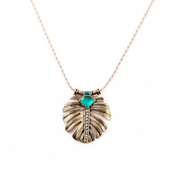 Tropical Vintage Glam Necklace