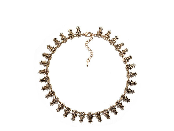 Seva Boho Metal Choker - The Songbird Collection