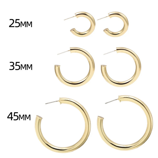 Mischa Hoop Earrings - LOW STOCK!