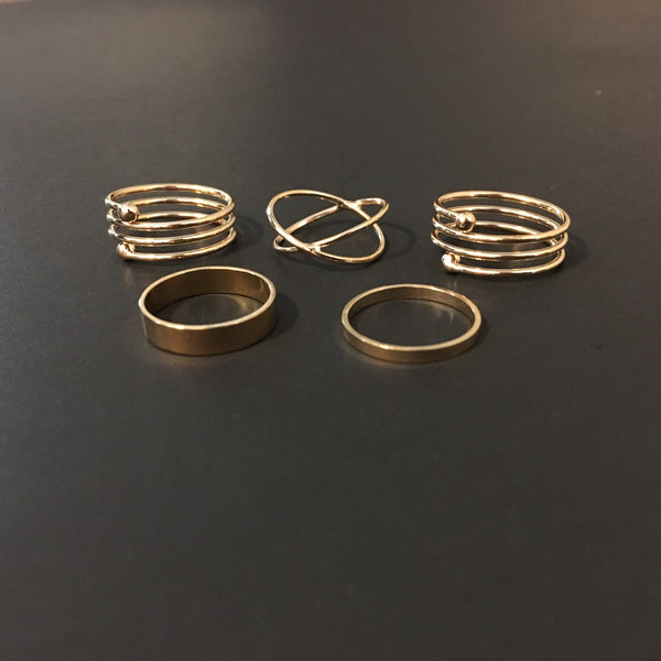 Stack'em Up Rings  - Silver RESTOCKED! - The Songbird Collection