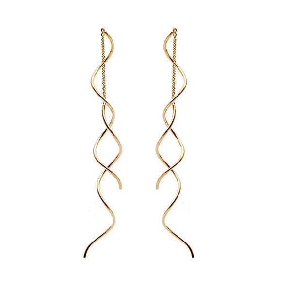 Twisted Threader Earrings