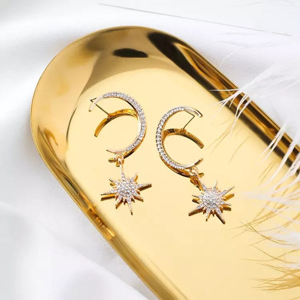 Goodnight Moon Earrings -  LOW STOCK!! - The Songbird Collection