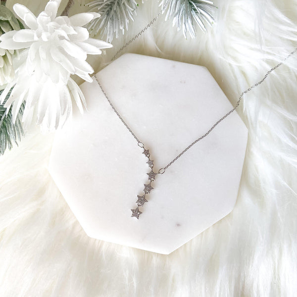 Star Crossed Sterling Silver Necklace - 4 LEFT - The Songbird Collection