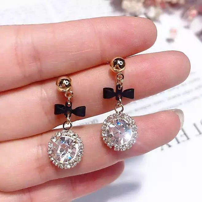 Rarity Sparkle Drop Earrings - The Songbird Collection