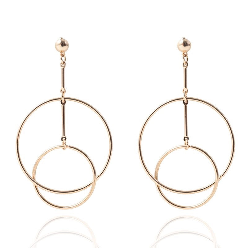 Nikki Drop Hoops Earrings - LOW STOCK! - The Songbird Collection
