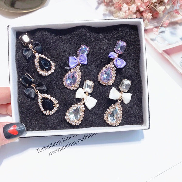 Cate Sparkle Drop Earrings - 3 COLORS! - The Songbird Collection