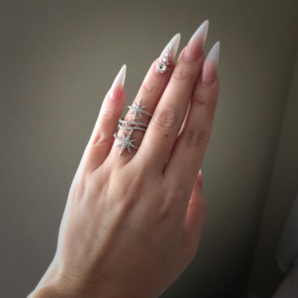 North Star Statement Ring