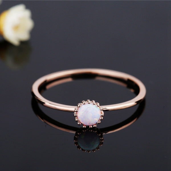 Cora Opal Ring - The Songbird Collection
