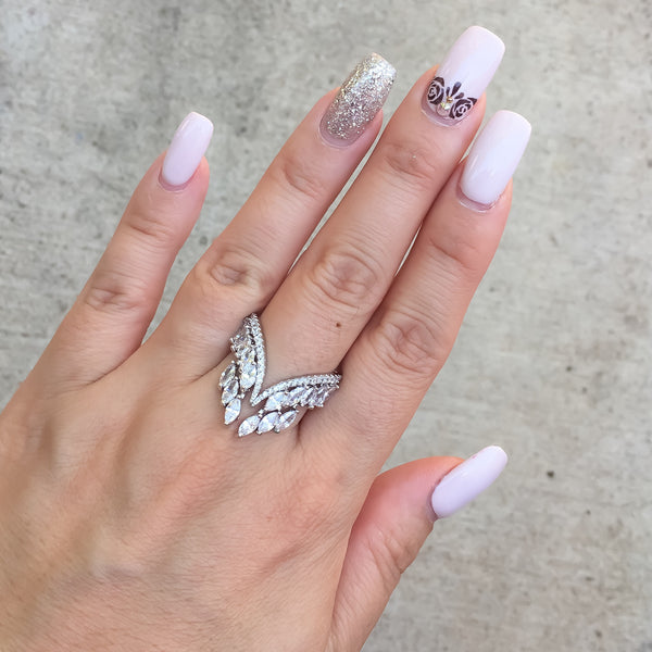 Grace Chandelier Ring