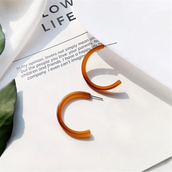 Malibu Acetate Earrings - LAST CHANCE - The Songbird Collection