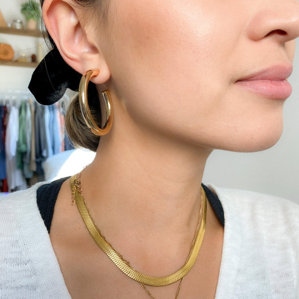 Mischa Hoop Earrings