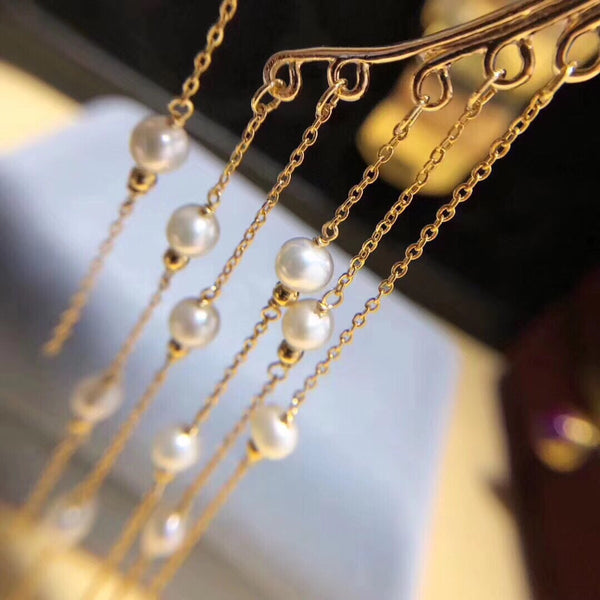 Chandelier Pearls Ear Cuff - RESTOCKED & on FLASH SALE!! - The Songbird Collection