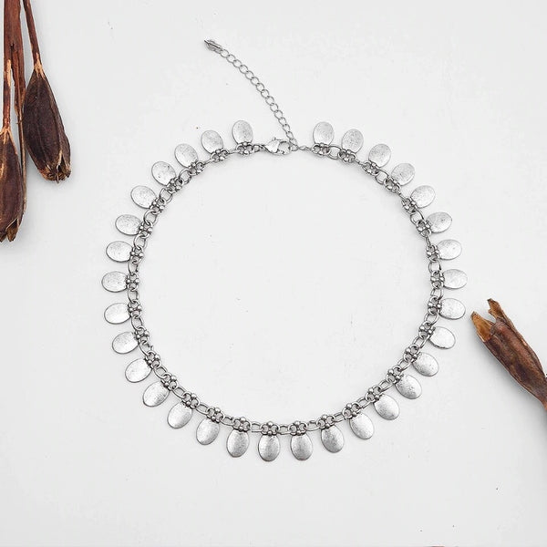 Shanti Boho Metal Choker - The Songbird Collection