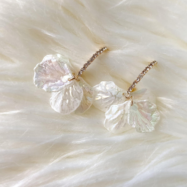 Iridescent Petals Earrings - The Songbird Collection