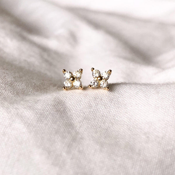 Itsy Bitsy Mini Earrings - 925 Sterling Silver - The Songbird Collection