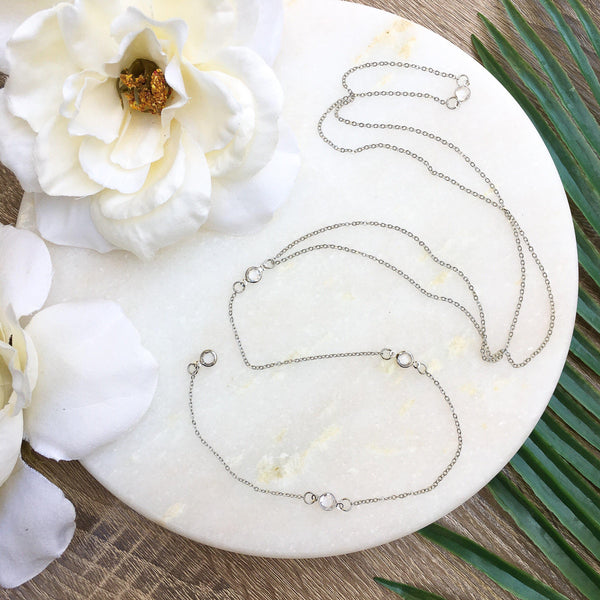 Morning Dew Backdrop Necklace - #1 Selling Necklace! - The Songbird Collection