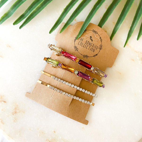 Tropic 🌺 Punch Hair Pin Set - 2 Choices! - The Songbird Collection