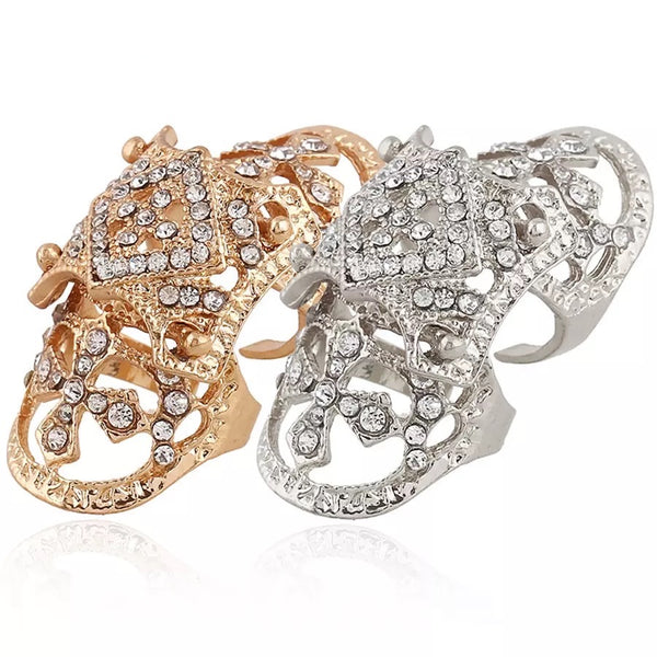 Alexandra Knuckle Ring - LOW STOCK! - The Songbird Collection
