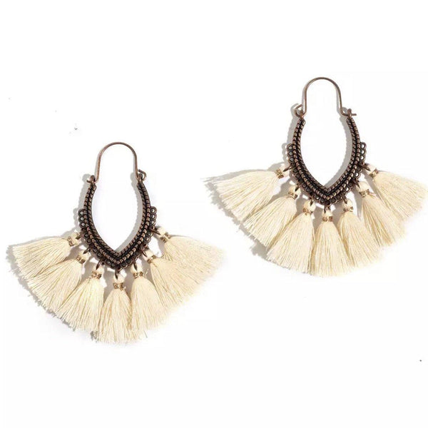 Jasnah Tassel Earrings - 9 Colors ~ LAST CHANCE! LOW STOCK!!! - The Songbird Collection