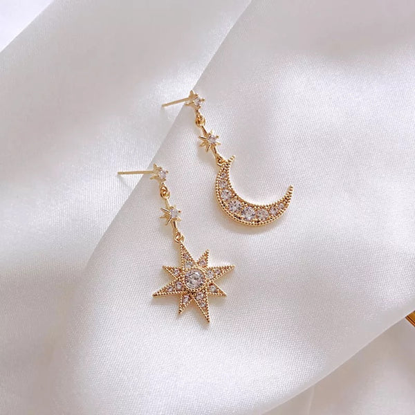 Stardrop Moondrop Earrings - RESTOCKED! - The Songbird Collection