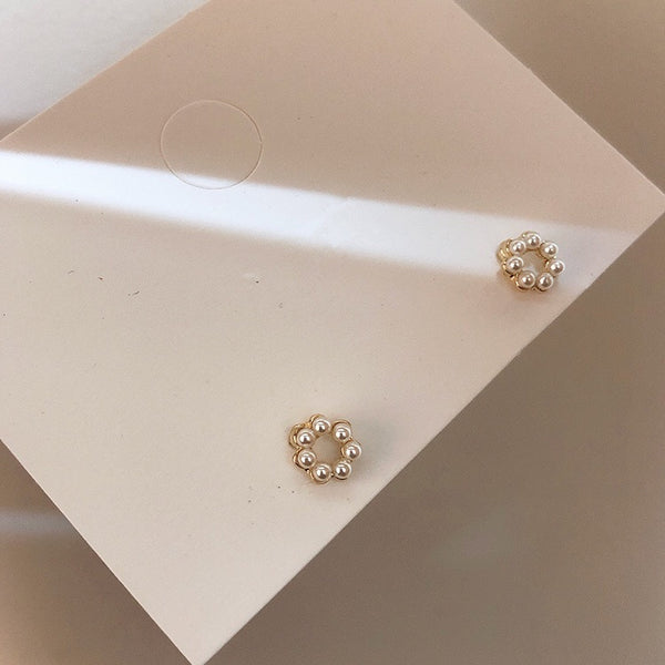 Felicity Mini Pearl Earrings - The Songbird Collection