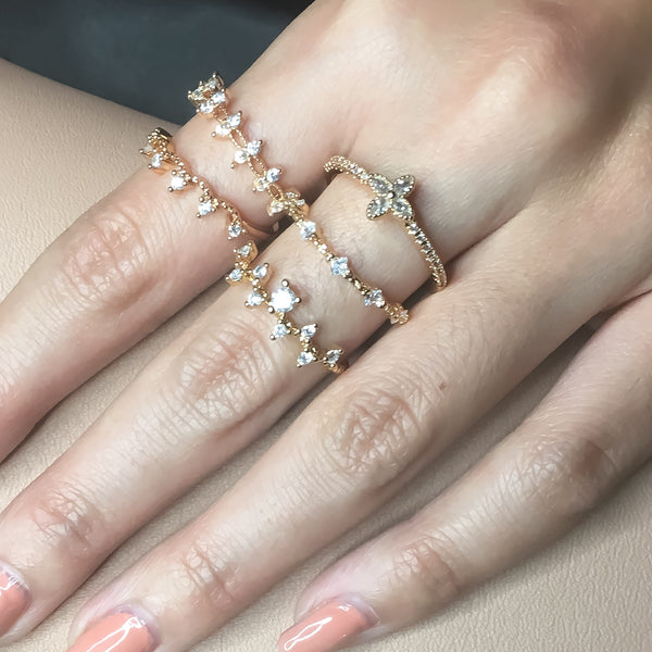 Halley - Astro Muse Luxury Ring Collection - The Songbird Collection