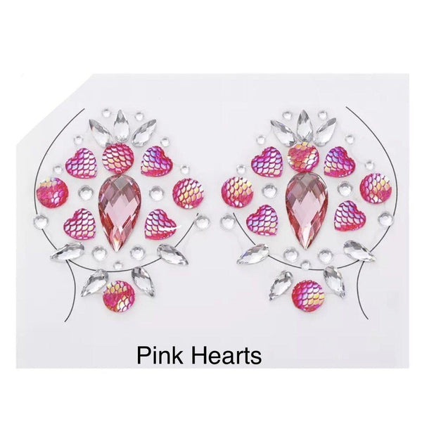Boobie Gem Pasties - 16 DESIGNS LOW STOCK!! - The Songbird Collection