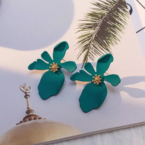 Miami Flower Earrings - 11 Colors LOW STOCK! - The Songbird Collection