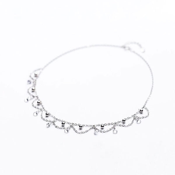 Silver Ball Sterling Silver Choker -RESTOCKED! - The Songbird Collection