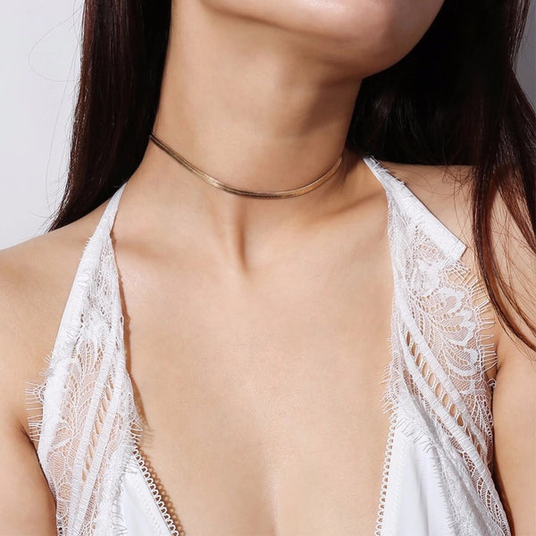 Snake Charmer Choker Necklace - The Songbird Collection