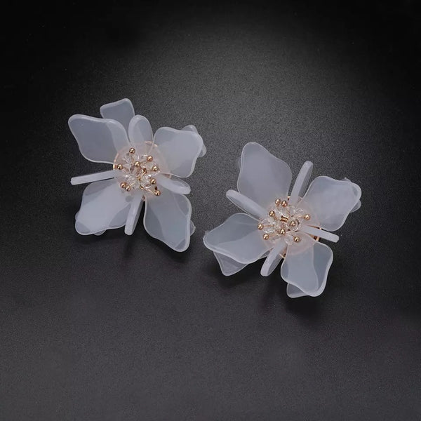Aster Floral Earrings - 4 LEFT! - The Songbird Collection